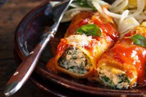 Spinach & Ricotta Canneloni