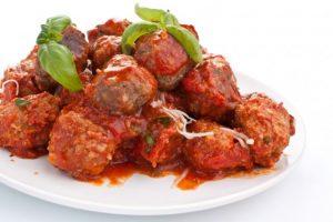 Italian style meatballs